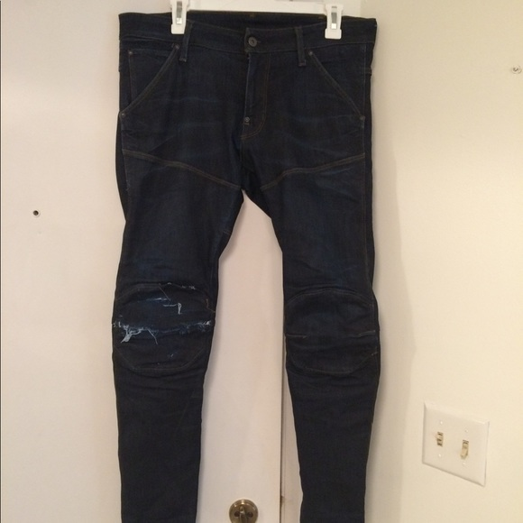 8dd423e38f2 G-Star Jeans | Gstar Raw 5620 3d Super Slim Tapered Blue Aged | Poshmark